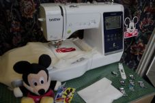 Get to know your Brother M280D Disney embroidery machine
